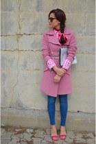 Zara bag - Bershka jeans - Zara heels