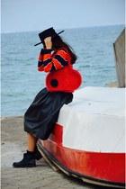 Accessorize bag - Deichmann boots - LC Waikiki shirt - vintage skirt