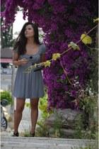 Koton dress - Bershka bag - Zara heels