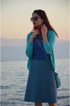 Zara dress - Stradivarius shirt - vintage skirt