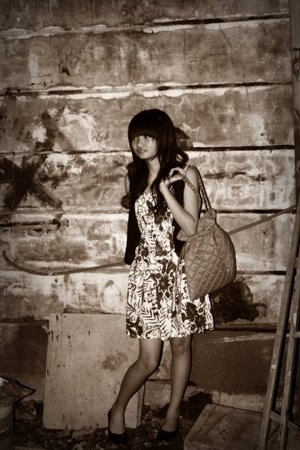 Bali dress - Gaudi vest