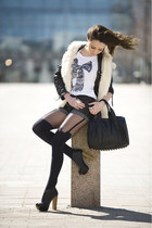 black massimo shorts