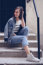 Casual denim look