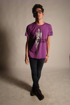 Marc by Marc Jacobs t-shirt - Cheap Monday jeans - Zara boots
