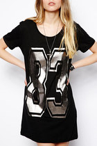 *free ship* Varsity 83 number T-Shirt dress - SV004578