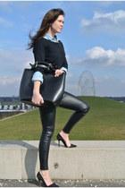 Zara bag - H&M pants