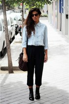BLANCO shirt - Zara pants