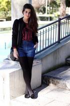 H&M jacket - H&M shirt - Zara shorts - Zara flats