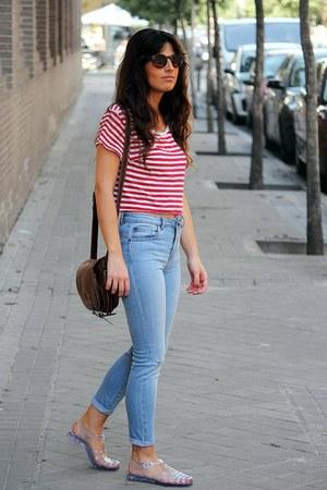 pull&bear jeans - H&M t-shirt
