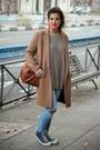 Zara-coat-pull-bear-jeans-zara-sweater-zara-bag-converse-sneakers