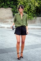 Massimo Dutti shirt - pull&bear shorts