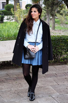 Mango coat - BLANCO shirt - Urban Outfitters bag - Massimo Dutti flats