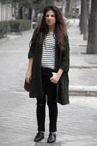 Urban Outfitters bag - H&M t-shirt - Primark pants - Zara cardigan
