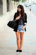 Zara shirt - Levis shorts