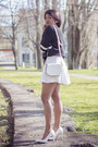 Dark-gray-tally-weijl-sweater-white-h-m-bag-ivory-h-m-skirt