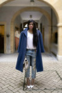 Navy-oversized-coat-wonderound-coat