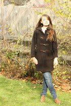 dark brown Wallflower Vintage coat - light brown from cologne Myras shoes