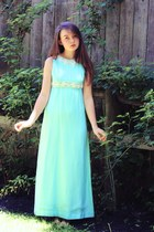 sky blue vintage 1970s Wallflower Vintage dress