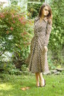 Brown-1970s-dress-wallflower-vintage-dress