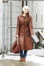 Brown-lace-up-oxfords-salamadar-shoes-dark-brown-wallflower-vintage-coat