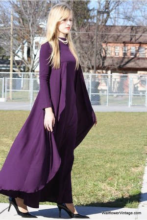 purple 110 Wallflower Vintage dress