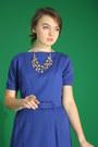 Blue-1960s-wallflower-vintage-dress-silver-the-dress-shop-necklace