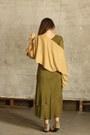 Olive-green-the-dress-shop-dress-camel-the-dress-shop-sweater
