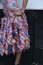 Bubble-gum-1970s-organza-wallflower-vintage-dress