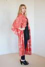 Red-kimono-printed-vintage-jacket
