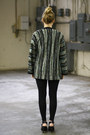 Dark-green-vintage-sweater