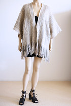 off white Vintage from We Move Vintage cape