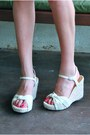 White-my-hot-shoes-wedges-periwinkle-romwe-dress
