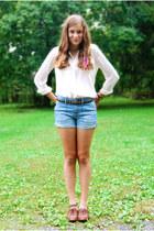 amethyst random bracelet - tawny Target shoes - light blue ae shorts