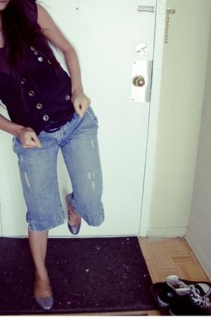 vest - Old Navy jeans