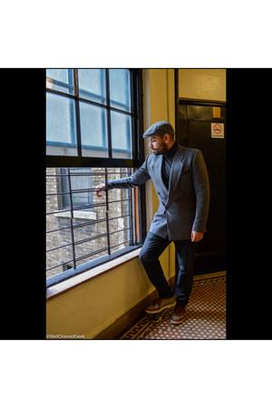 cashmere Uniqlo sweater - virgin wool Giorgio Armani blazer