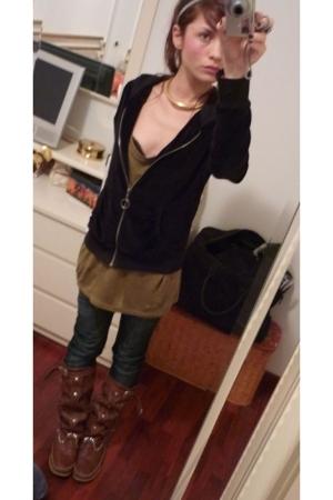 Zara sweater - Zara vest - cycle jeans - shoes