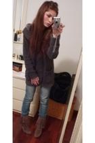 Zara blazer - met jeans - Zara shoes