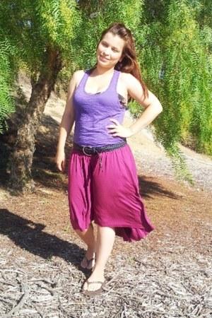 amethyst Target skirt