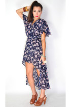 navy wicked plum original dress
