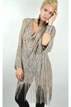 silver Wicked Plum Vintage dress