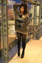 light brown vintage sweater