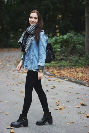 denim Zara jacket