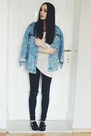 denim Zara jacket