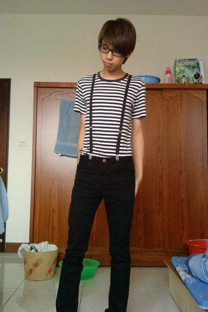 black American Apparel pants - black American Apparel accessories