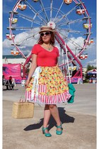 mustard Roobys Skirts skirt - coral danier t-shirt