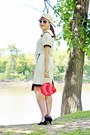 Ivory-sailor-vintage-hat-salmon-fish-aldo-bag-ivory-leather-danier-skirt