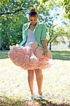 white bustier Vedette Shapewear intimate - aquamarine Forever 21 blazer