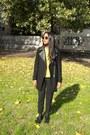 Black-zara-coat-yellow-iblues-sweater-black-h-m-panties