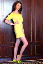 Ella Moss dress - Pretty Ballerinas flats - AV Max accessories