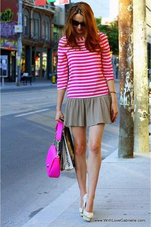 textile print Mimosa heels - kate spade bag - kate spade sunglasses
